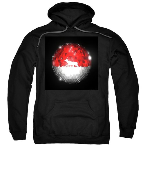 Deer Bauble - Frame 10 Sweatshirt