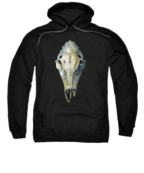 Deer Skull Aura Sweatshirt by Catherine Twomey