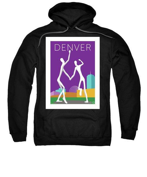 Denver Dancers/purple Sweatshirt