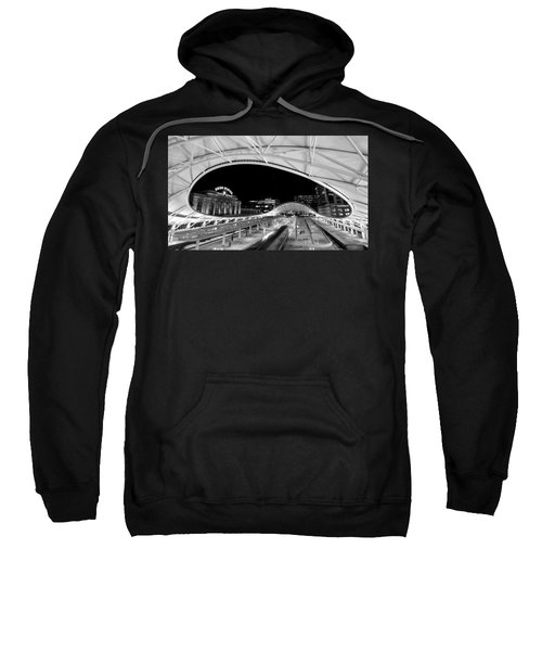 Sweatshirt featuring the photograph Denver Union Station 1 by Stephen Holst