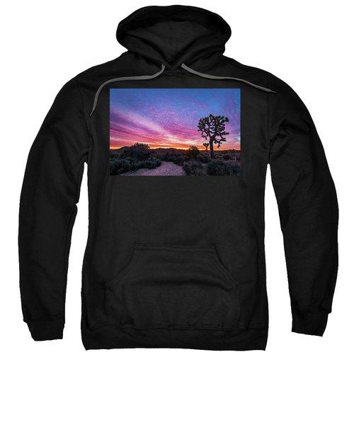 Desert Sunrise At Joshua Tree Sweatshirt