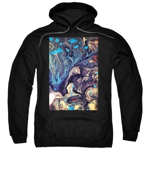 Detail Of Fluid Painting 2 Sweatshirt