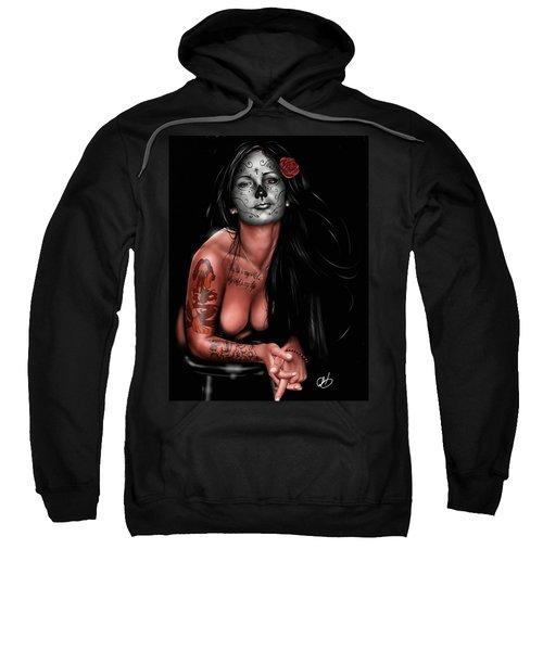 Dia De Los Muertos 4 Sweatshirt