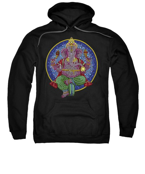 Digital Ganesha Sweatshirt by Tim Gainey