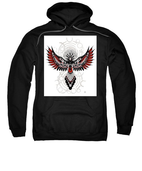 Divine Crow Woman Sweatshirt