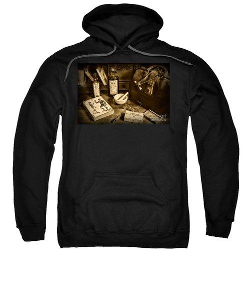 Doctor - Have Bag Will Travel Sweatshirt