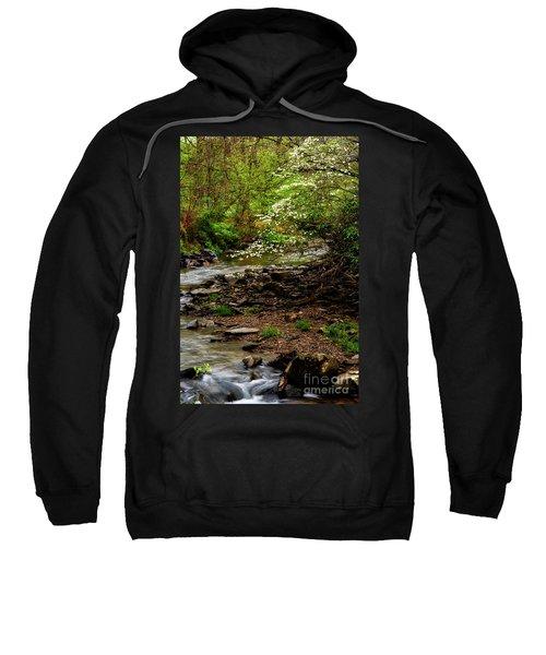 Dogwood At The Bend Sweatshirt