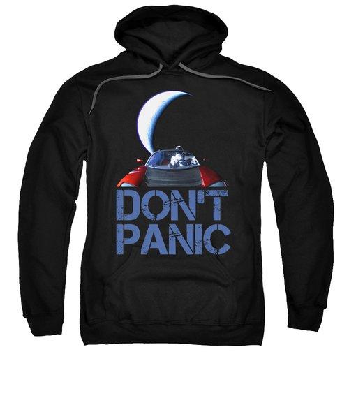 Don't Panic Starman Sweatshirt