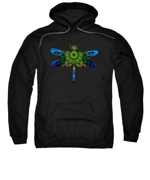 Dragonfly Kaleidoscope Sweatshirt