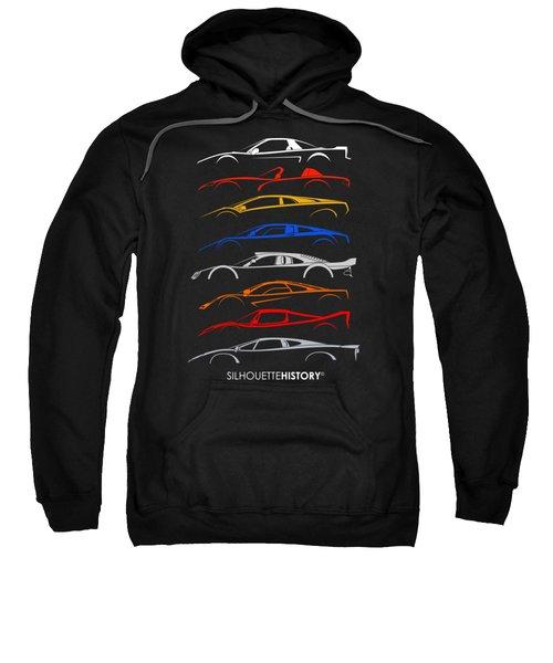 Dreamcars Of 90s Silhouettehistory Sweatshirt