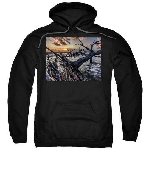 Driftwood Beach 4 Sweatshirt