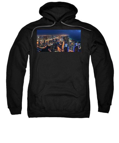 Dubai - Marina Skyline Panorama Sweatshirt