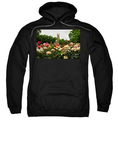 Duke Chapel And Roses Sweatshirt