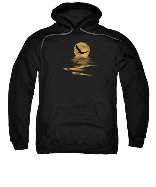 Eagle In The Moonlight Sweatshirt