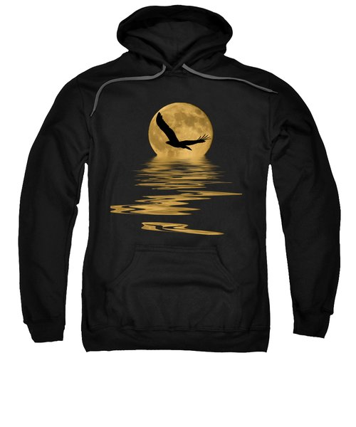 Eagle In The Moonlight Sweatshirt