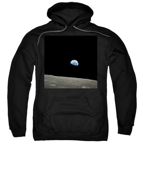 Earthrise - The Original Apollo 8 Color Photograph Sweatshirt