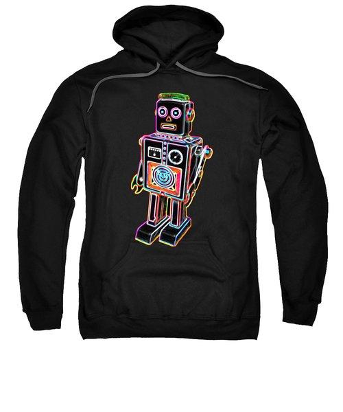 Easel Back Robot Sweatshirt