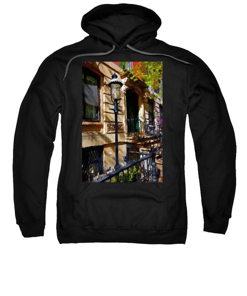 East Village New York Townhouse Sweatshirt