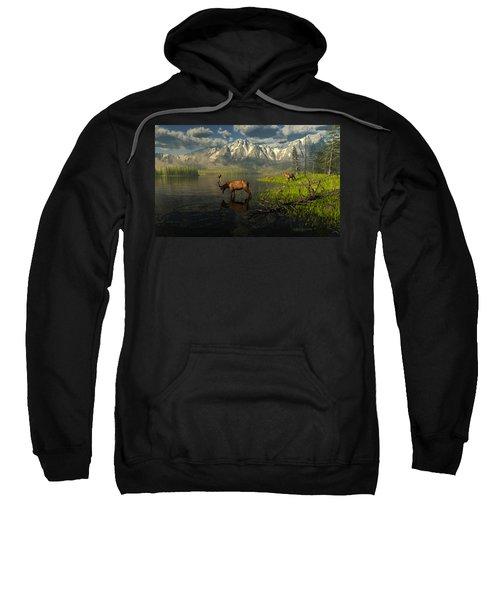 Echoes Of A Lost Frontier Sweatshirt