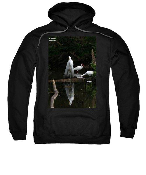 Egret Reflection Sweatshirt