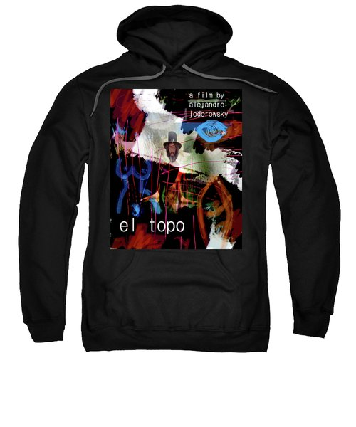 El Topo Film Poster  Sweatshirt