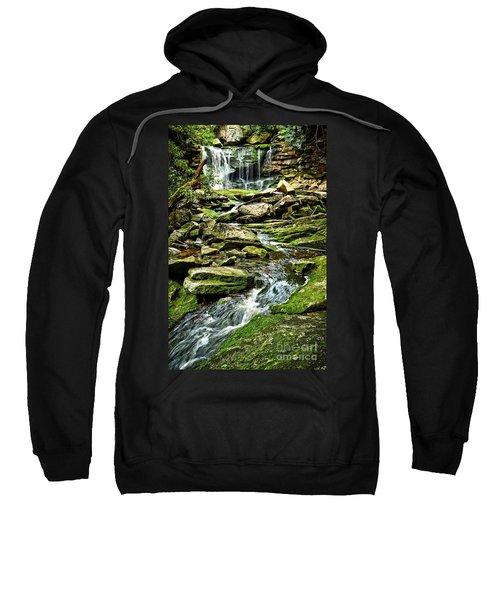 Elakala Falls At Blackwater Falls State Park Sweatshirt