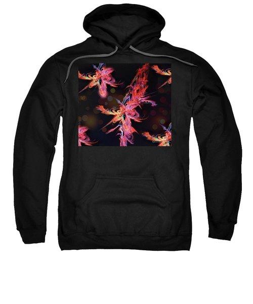 Electric Flowers Sweatshirt