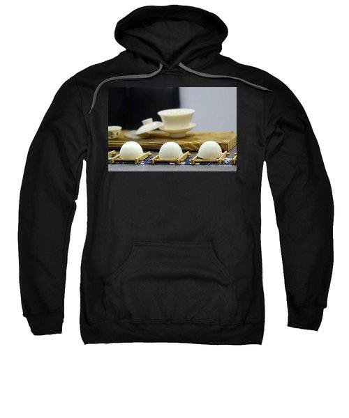 Elegant Chinese Tea Set Sweatshirt