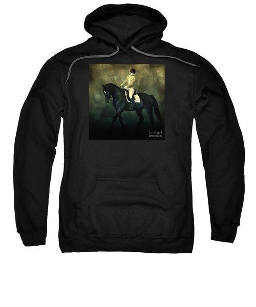 Elegant Horse Rider Sweatshirt