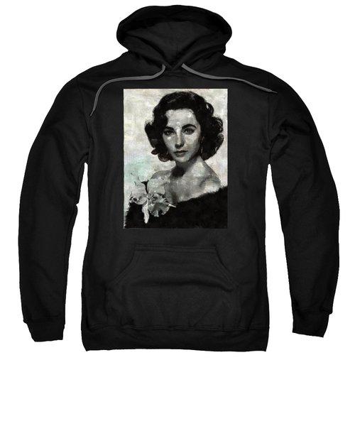 Elizabeth Taylor Sweatshirt by Mary Bassett
