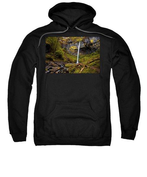 Elowah Falls Oregon Sweatshirt