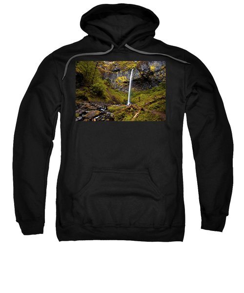 Elowah Falls Oregon Sweatshirt
