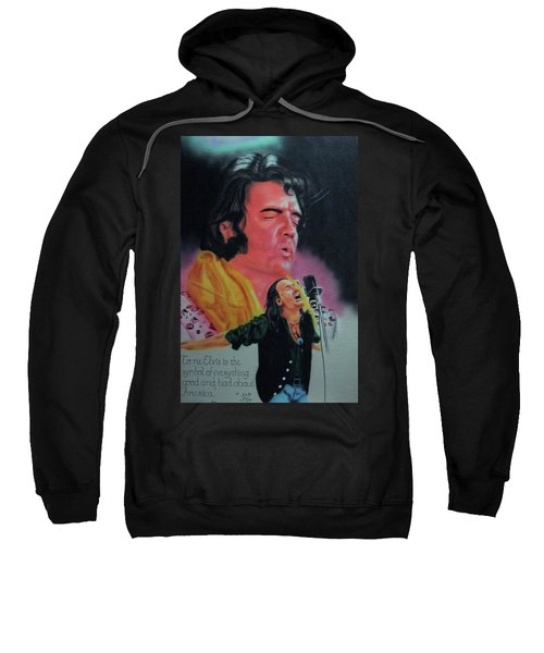 Elvis And Jon Sweatshirt