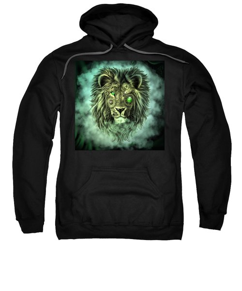 Emerald Steampunk Lion King Sweatshirt