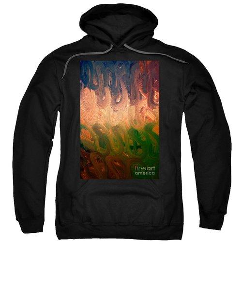 Emotion Acrylic Abstract Sweatshirt