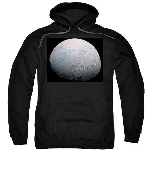 Sweatshirt featuring the photograph Enceladus Hd by Adam Romanowicz
