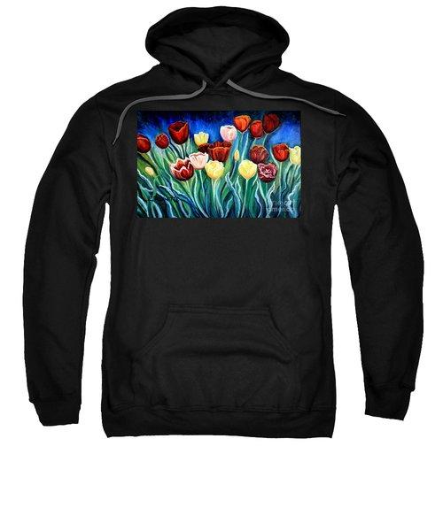 Enchanted Tulips Sweatshirt
