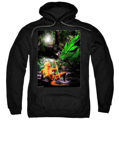 Encounter With A Dragon Sweatshirt