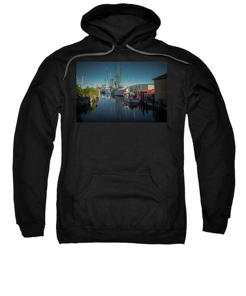 Englehardt,nc Fishing Town Sweatshirt