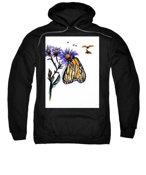 Erika's Butterfly One Sweatshirt