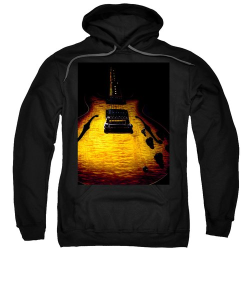 Es-335 Dots Flame Burst Spotlight Series Sweatshirt