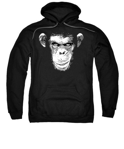 Evil Monkey Sweatshirt by Nicklas Gustafsson