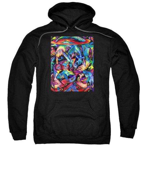 Expansive Dynamics Of The Subconscious Sweatshirt