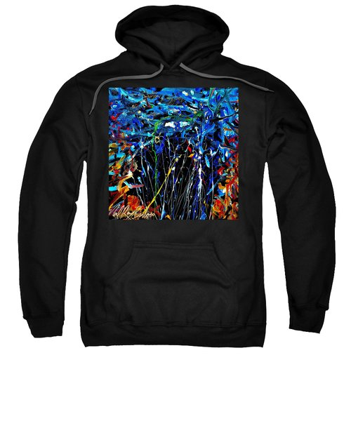 Eye In The Sky And Water Sweatshirt