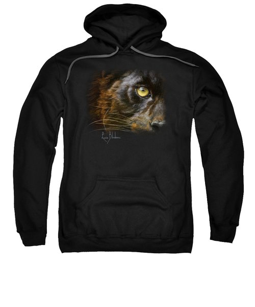 Eye Of The Panther Sweatshirt by Lucie Bilodeau