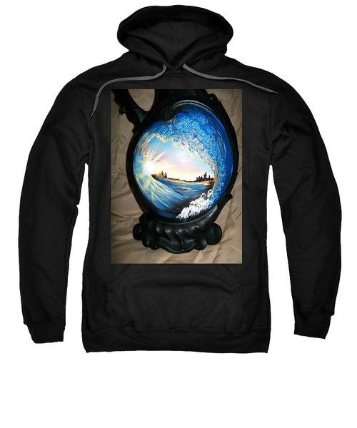 Eye Of The Wave 1 Sweatshirt