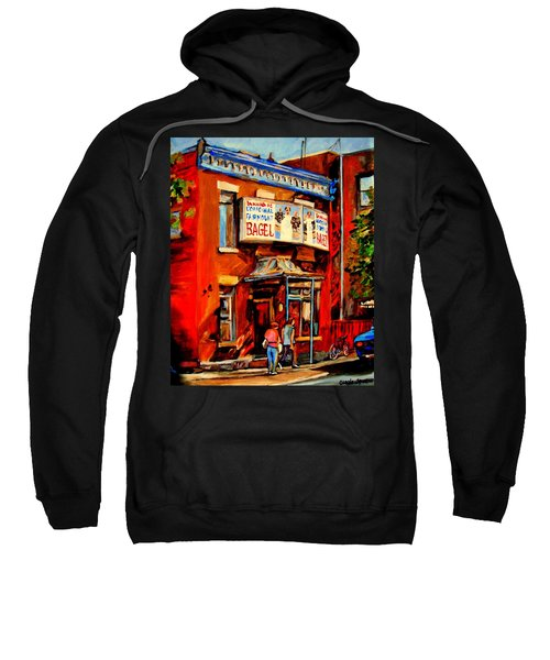 Fairmount Bagel Montreal Sweatshirt