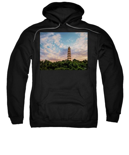 Far Distant Pagoda Sweatshirt