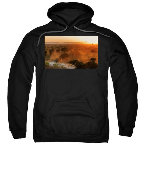 Farmer Returning To Village In The Evening Sweatshirt