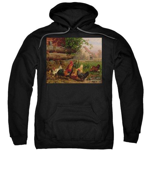 Farmyard Chickens Sweatshirt